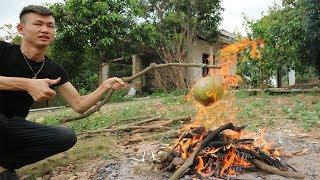 Duy Thường || Dừa Xiêm Nướng Cực Ngon