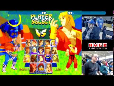 AVGC 2017   Street Fighter Alpha 2 Tournament
