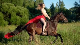 Фотосессия с лошадьми в Авалон Таруса 2016