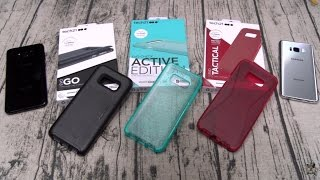 Samsung Galaxy S8 And S8 Plus Tech21 Cases
