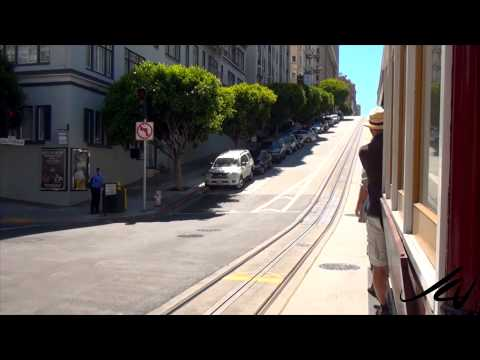San Francisco California Cable Car Tour  -  YouTube