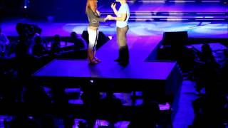 Shawn Marriage Proposal to Jacqui - sings Marry Me by Train on Stage
