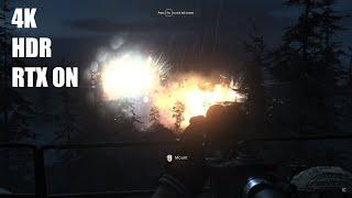 Call of Duty Modern Warfare 4K 60FPS HDR RTXOn Gaming EVGA GeForce RTX 2080 Ti K NGP N