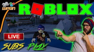 🔥 ROBLOX LIVE  🔥  Subs Play 🚨 Jailbreak / Speed Run  and More 💙  (2-2-18)