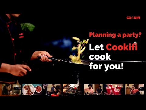 Keep Calm and let Cookifi cook for your Dream Party - Jamming session with Friends