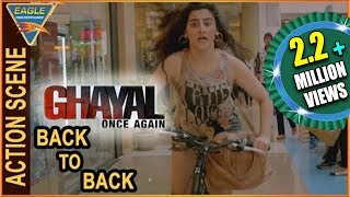 Ghayal Once Again Hindi Movie || Back To Back Action Scenes || Sunny Deol || Eagle Hindi Movies