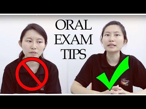 ENGLISH - Oral Examination Tips thumbnail