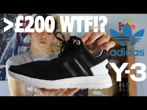 7f859989d ADIDAS Y-3 PURE BOOST ZG KNIT (CORE BLACK WHITE)  SNEAKERS T by T ...