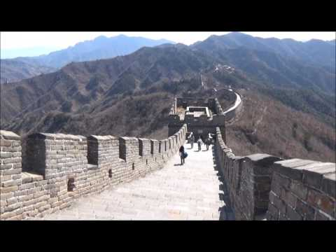 Great Wall of China Mutianyu 幕田峪长城 Tower 14 to Tower 6 Steep Steps Gorgeous Day