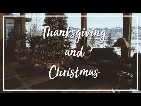 Thanksgiving et Noël aux USA