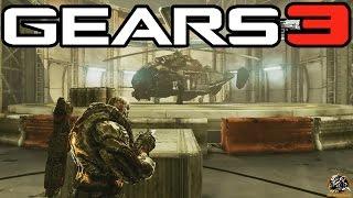 Gears of War 3 - Lambent Drone Gameplay! (Gears of War PC Mods)