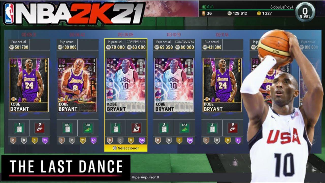 NBA 2K21 - El último baile de 2K21 con KOBE BRYANT del TEAM USA || Triple Amenaza Online en Español