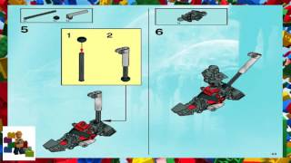 LEGO instructions - Bionicle - 8924 - Maxilos and Spinax