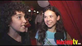 Jennifer Smart and Diego Murgia at 2009 Teen Choice Awards Pre-Party