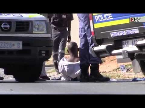 Rivonia shootout brings traffic to stand still
