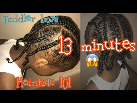 Hairstyle For Toddler Boys 2 Youtube