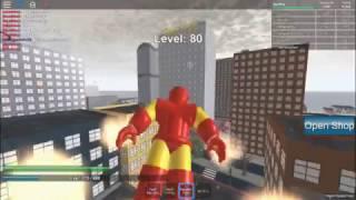 CMH reveiw: iron man | roblox