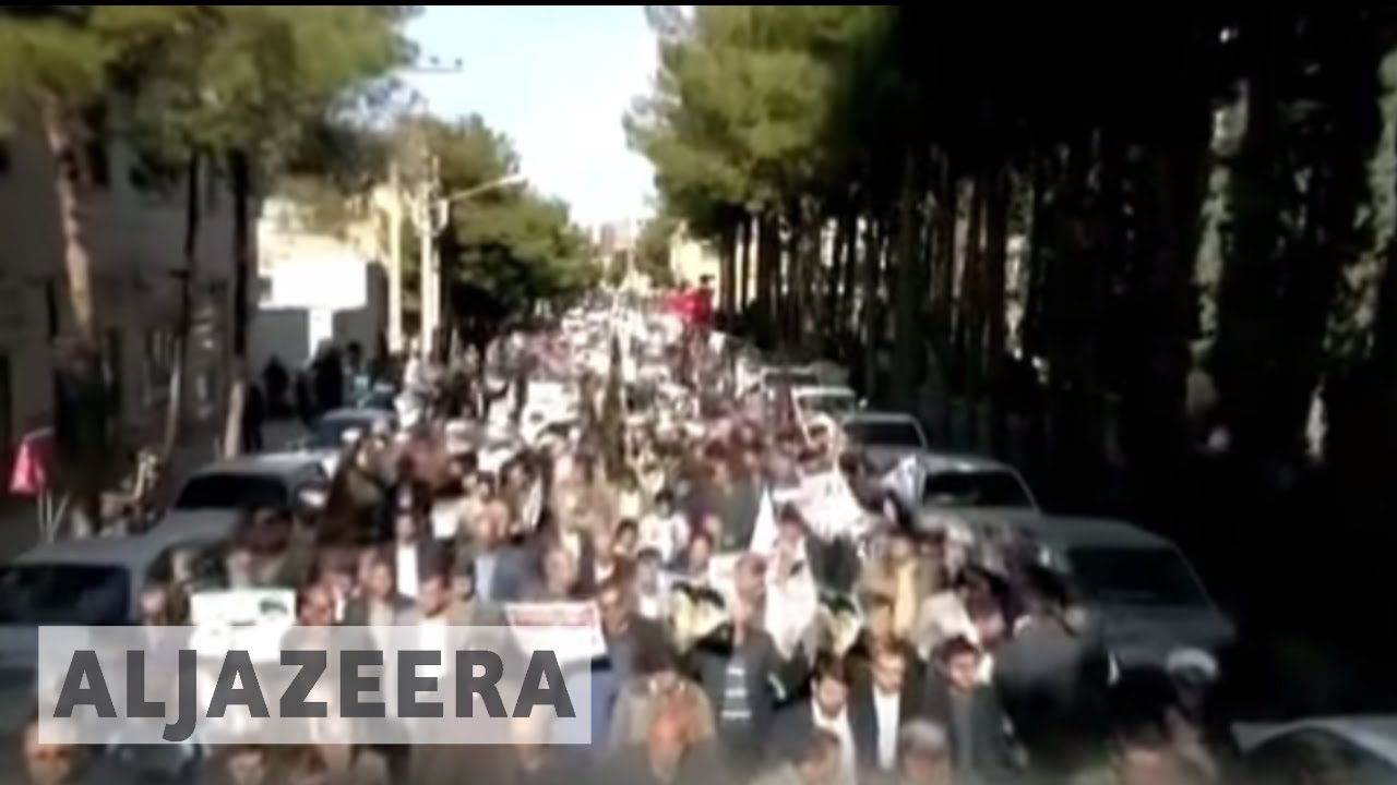 Anti-government protests in Iran enter third day