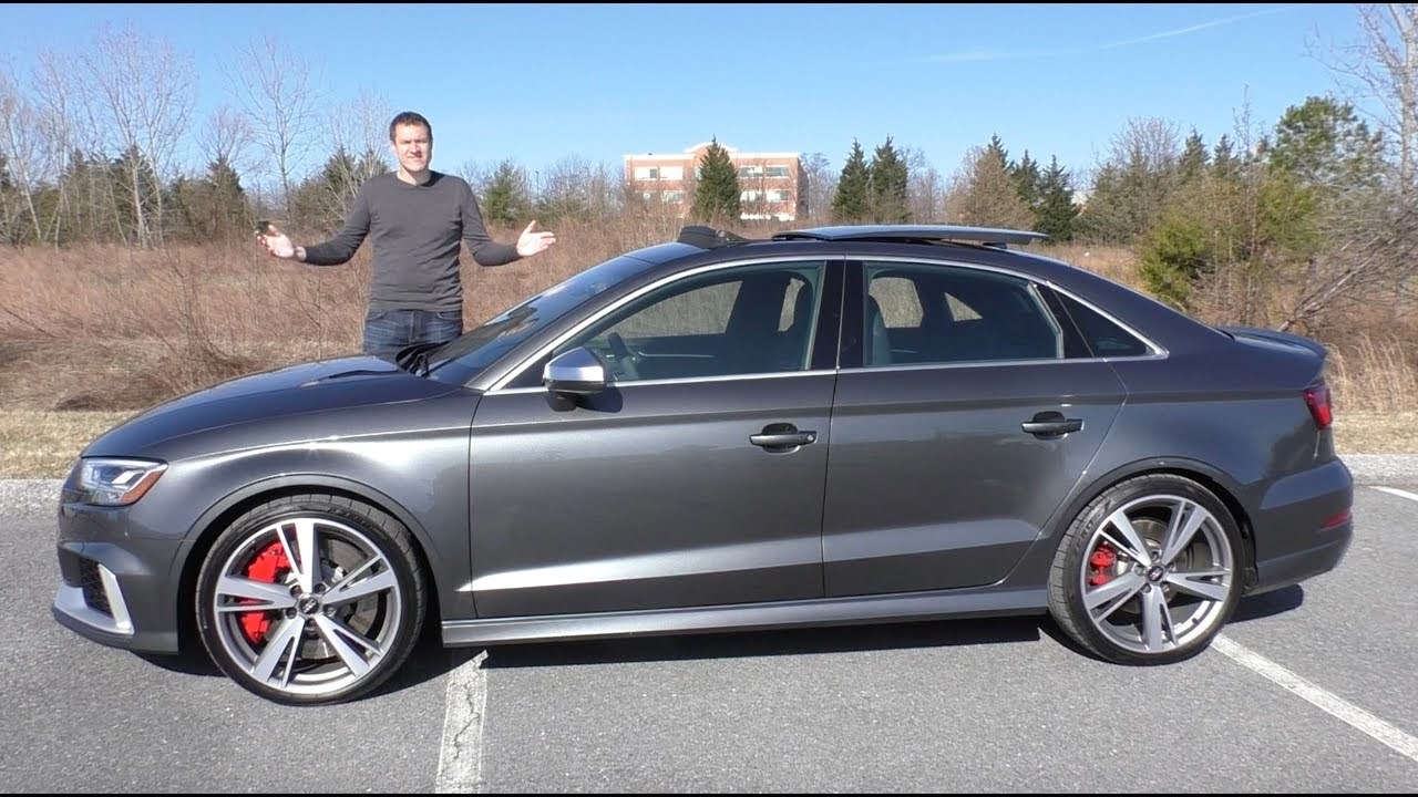 Here's Why The 2018 Audi RS3 Is The Best New Audi