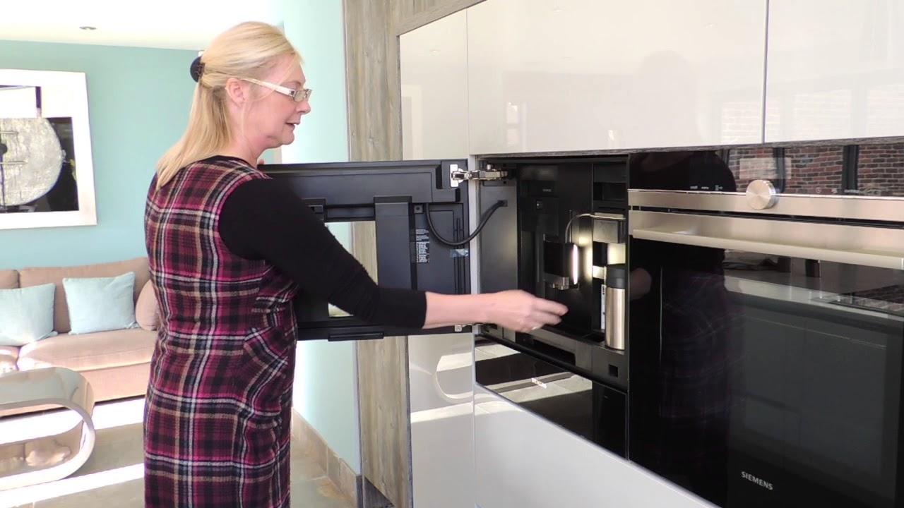 Siemens Integrated Coffee Machine