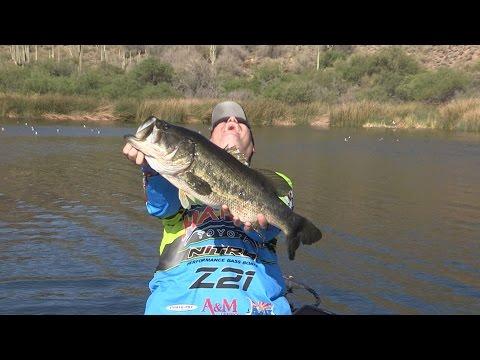 Fishing With Johnny Johnson - Saguaro Lake, AZ – Sight-Fishing – Early April, 2016