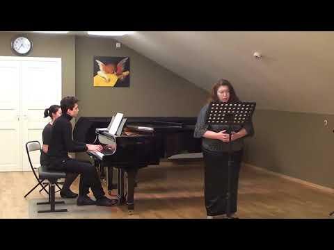 Ольга Алексеева (меццо-сопрано): И.Брамс - Майская ночь