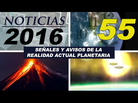 55º ALCYON PLÉYADES - VIDEO NOTICIAS 2016: Olimpiadas Río 2016, Rusia, Clinton-Trump, OVNI