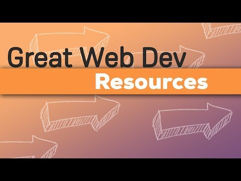 Web Dev - Where To Look Things Up
