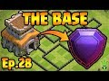 THE BASE! (Finally) - TH8 Push to Legends - Clash of Clans - TH8 Push Episode 28