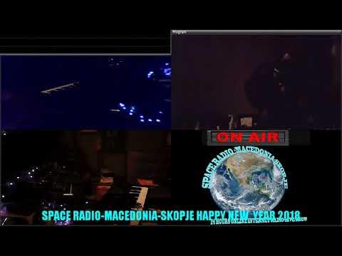Programa za Docek na Novata 2018 na Space Radio Mcacedonia Skopje