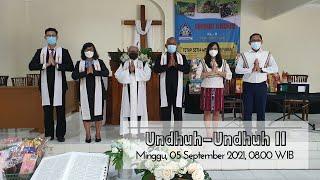 Ibadah Minggu GKJW Jemaat Sidoarjo - 05 September 2021(Undhuh-Undhuh II - dilanjutkan Lelang Natura)