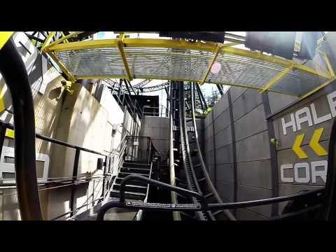 The Smiler Roller Coaster at Alton Towers - GoPro Hero 3+ Black Edition POV