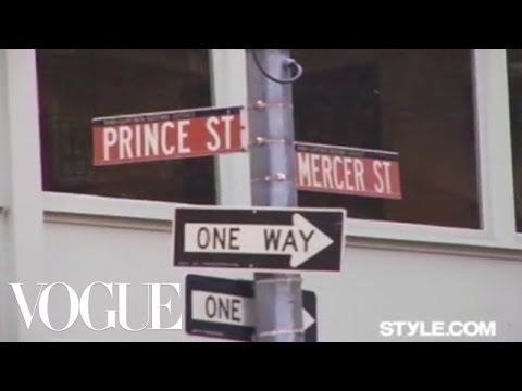 The Sartorialist in Soho NYC: Prince & Mercer Pt. 1