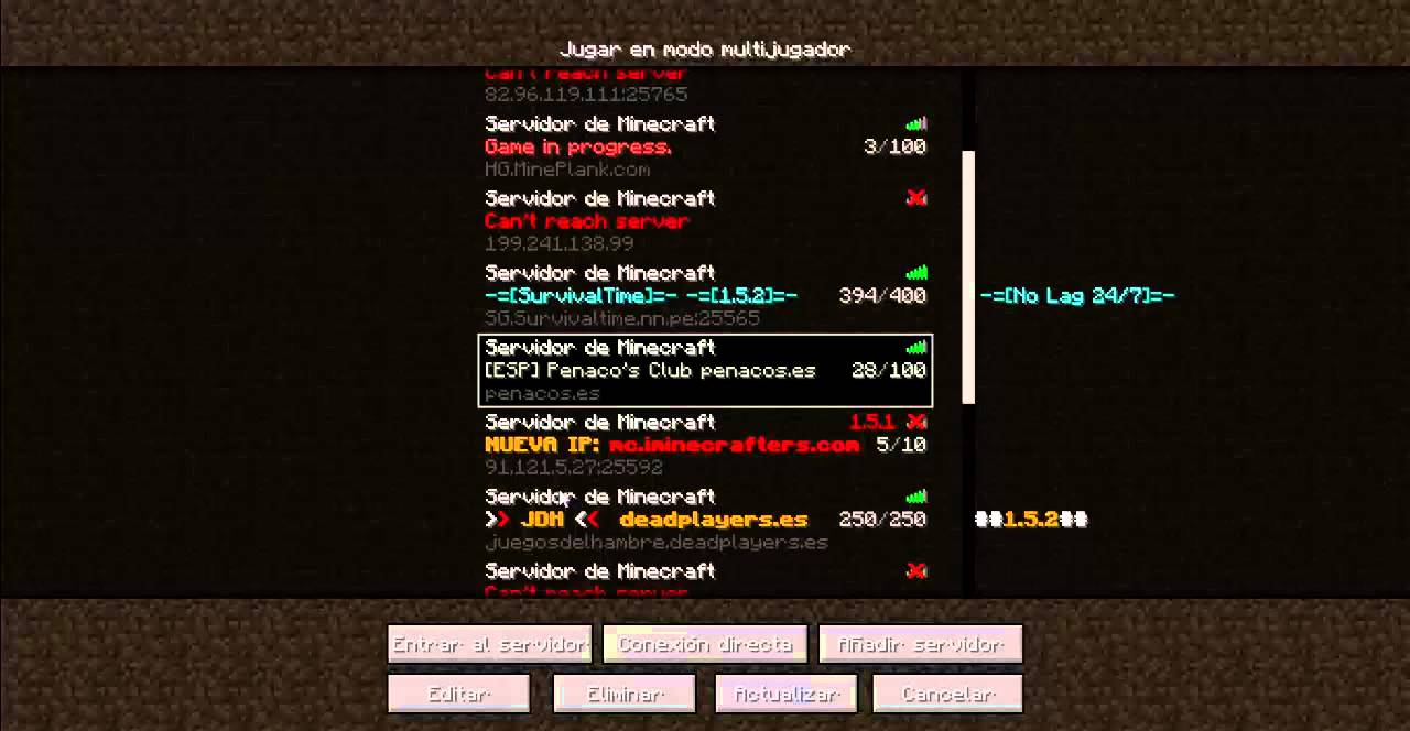 Minecraft And Server Name 2 5 Addresses 1 Minecraft