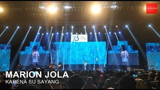 Marion Jola - Karena Su Sayang (LIVE JCC)