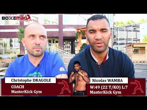 ITW Nicolas WAMBA et Christophe DRAGOLE GLORY 42 / LE BANNER vs QUARTERON