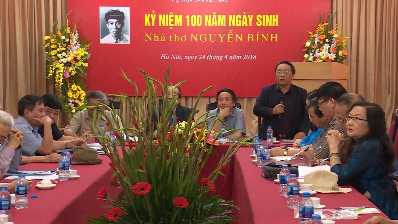 Hội Nhà văn Việt Nam kỷ niệm 100 năm Ngày sinh nhà thơ Nguyễn Bính