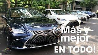Test Drive Lexus ES 2019, 7ma. generación de lujo e innovación