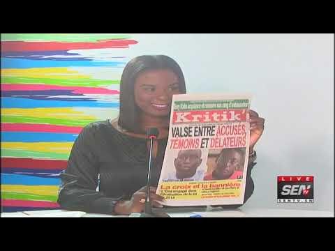 Revue des Titres de Presse avec Fabrice Ngueme du Jeudi   31