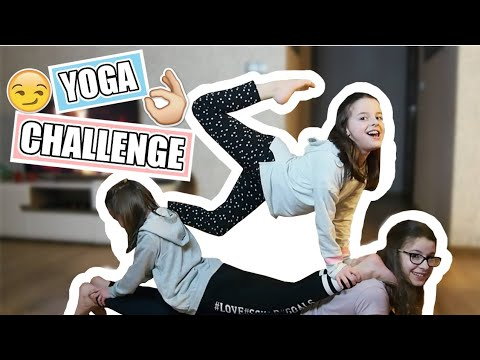 YOGA CHALLENGE z siostrami| Wols
