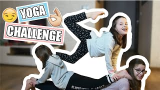 YOGA CHALLENGE z siostrami  Wols