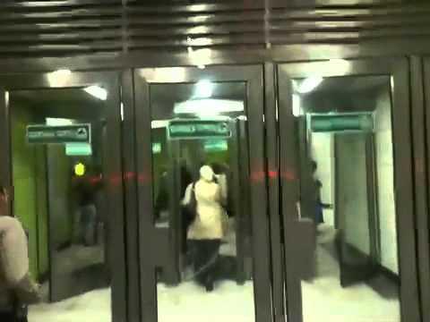Путин открыл станцию метро Новокосино