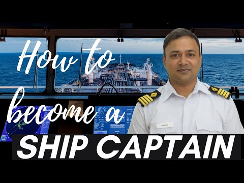How to become a Captain of the Ship | Career Path- Deck Cadet to Master Mariner | Capt. Subra Anand