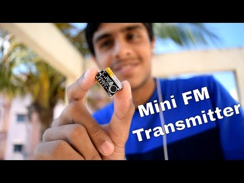📻 Make Mini Spy FM Transmitter Bug - Spy Bug Listening Device Wireless