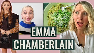 Dietitian Reacts to Emma Chamberlain's Diet (... Honestly She Surprised Me!)