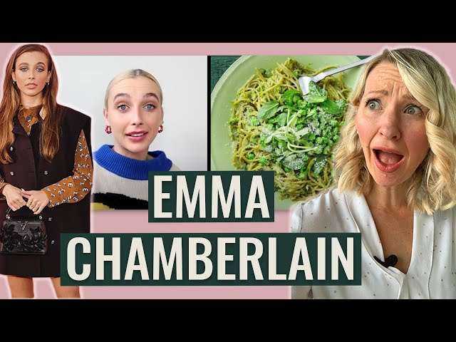 Dietitian Reviews Emma Chamberlain's Diet (... Honestly She Surprised Me!)