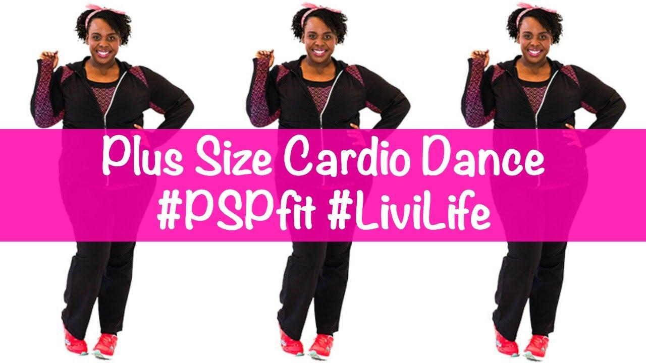 Plus Size Workout Video: Cardio Dance! #PSPfit #LiviLife - YouTube