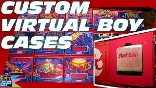 Make Your Own Custom VIRTUAL BOY Cases and Printed Covers - Retro GP