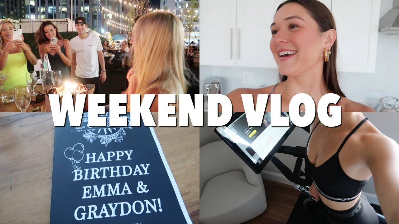 WEEKEND VLOG: emma''s birthday party + a big lifestyle change
