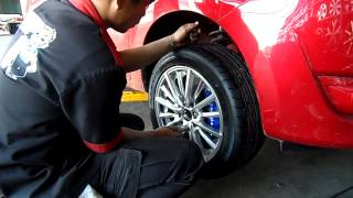 Repeat youtube video mirage เปลี่ยนแม็ก 195/50r15 auto อ